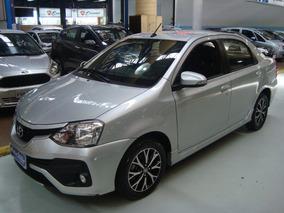 Toyota Etios Sedán Platinum 2017 Automático Garantia Fabrica