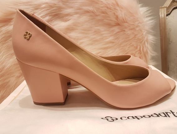 Sapato Scarpin Capodarte Rosa