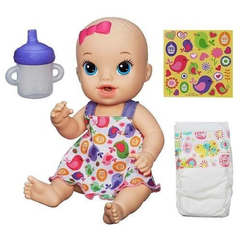 Boneca Baby Alive Loira Hora Do Xixi Hasbro