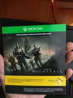 Xbox One Halo Interactive Channel Codigo Digital