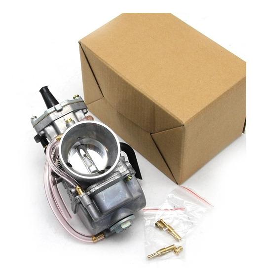 Carburador Koso Guilhotina C Powerjet 21 24 26 28 30 32 34mm
