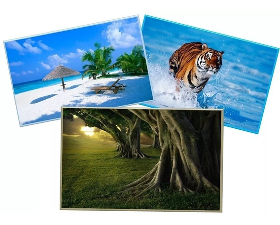 500 Folhas Papel Fotográfico Glossy A4 115g