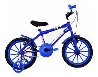 Bicicleta Aro16 Infantil Unissex+adesivo Brinde Frete Grátis