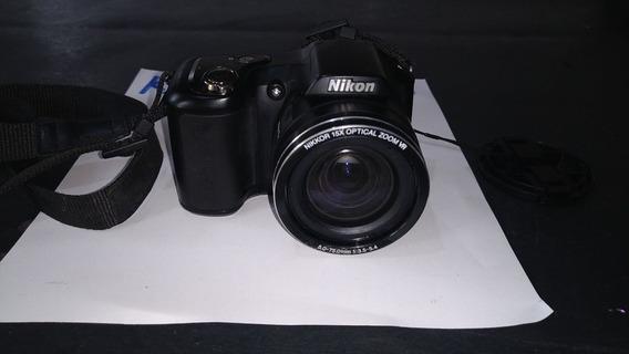 Câmera Digital Nikon Colpix L100 Com Defeito