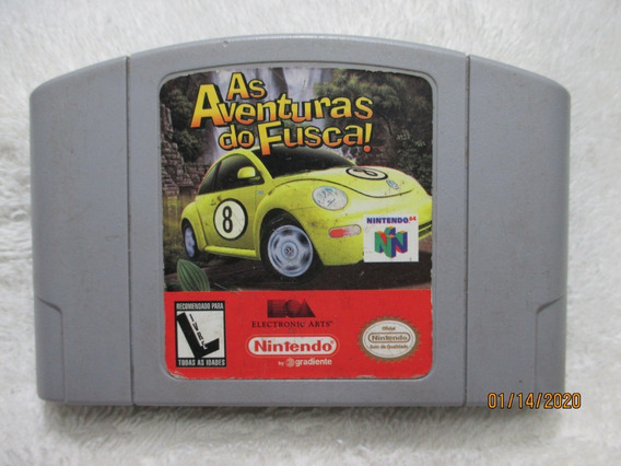 As Aventuras Do Fusca!/original Gradiente Para Nintendo 64