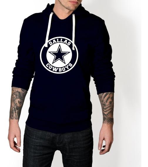 Buzo Hoddie Nfl Cowboys Dallas Futbol Americano Fan Capota