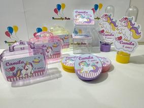 Kit*festa Infantil Personalizado Tema Unicórnio (150 Itens)