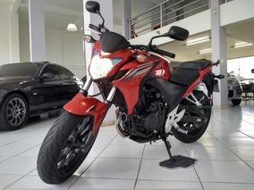 Honda Cb 500 F 2015 Vermelha Gasolina
