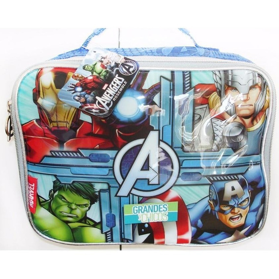Lunchera Termica Avengers Original Marvel