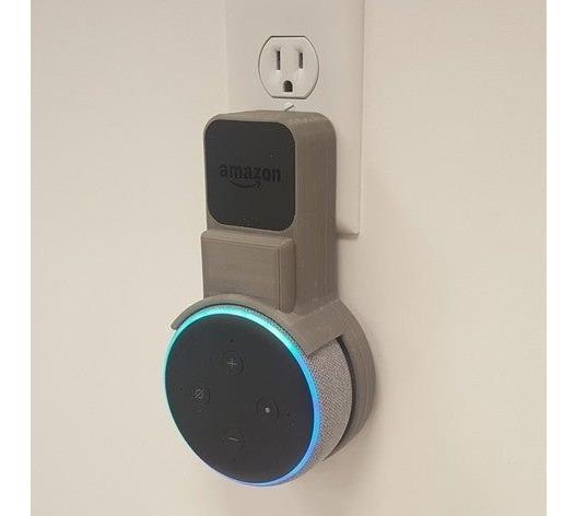 Suporte De Parede Para Amazon Echo Dot 3 - Pronta Entrega