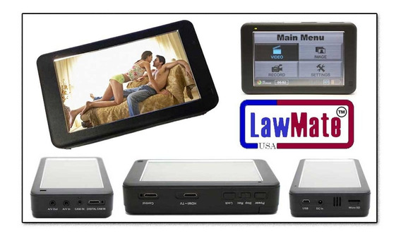 Dvr Portatil Hd Digital Profissional Lawmate 500gb