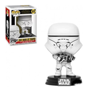 Funko Pop First Order Jet Trooper 317 Star Wars - Minijuegos