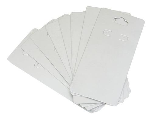 1000 Cartelas De Papel P/ Brinco 12 X 6 Cm - Cores Variadas