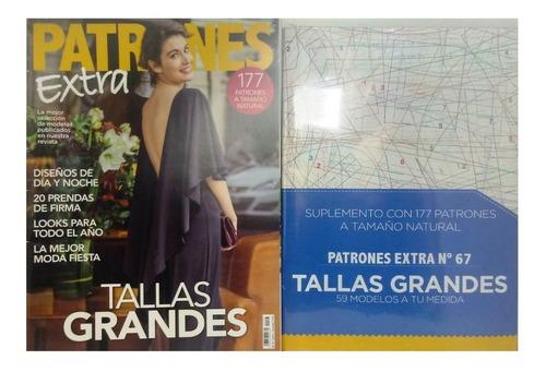 Revista Patrones Extra Nº67 Tallas Grandes Mercado Libre