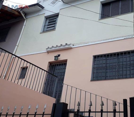 Sobrado Para Alugar, 132 M² Por R$ 3.700/mês - Perdizes - São Paulo/sp - Ca0918