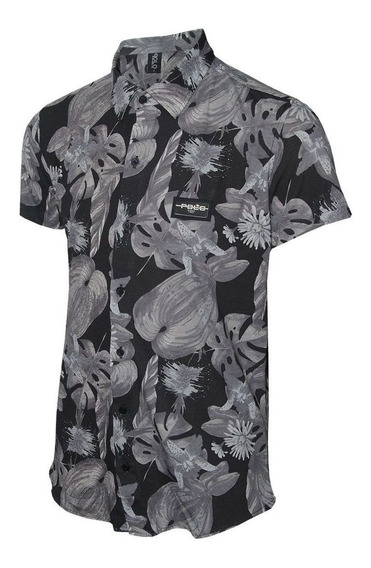 Camisa Masculina Floral Polo Rg518 Original Polo Rg518