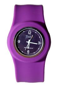 Relógio Twik Slap Purple *frete Gratis*