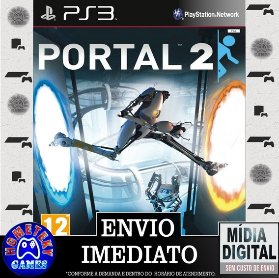 Portal 2 - Psn Ps3 Play 3 - Pronta Entrega
