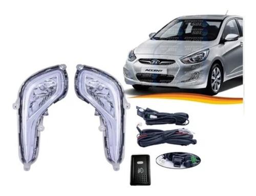 Imagen 1 de 3 de Neblinero Hyundai Accent 2011 / 2018 Kit Completo