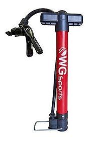Bomba De Ar Para Bicicleta Mini Em Alumínio Da Wg Promoção E