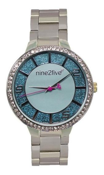 Reloj Original Dama Marca Nine2five Modelo Amss13slaz