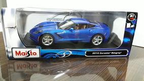 Corvette Stingray 2014 Azul Metálico