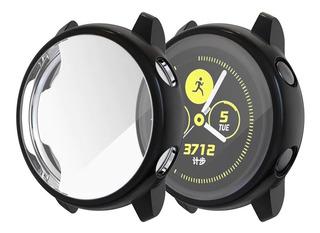 Case Capa Galaxy Watch Active Sm R500 Em Silicone Premium Capinha De Fácil Instalação Proteção Total