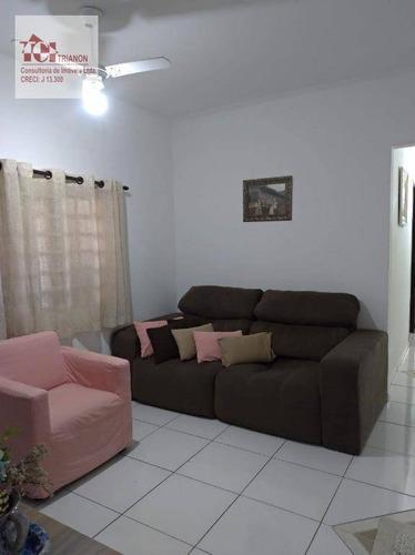 Imagem 1 de 15 de Casa Com 3 Dormitórios (1 Suíte), 8 Vagas - À Venda Por R$ 689.000 - Jardim Ocara - Santo André/sp - Ca0414