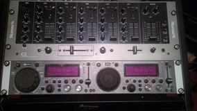 Gemini Cdmp-2600 Dual Player Dj- Mixer-reproductor Cd/mp3-