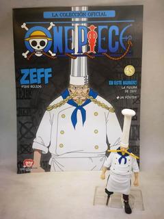 Coleccion Figuras One Piece Salvat Nº 45 Zeff