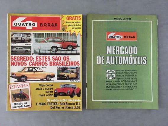 Revista Quatro Rodas - Março 1982 - Nº 260 Escort