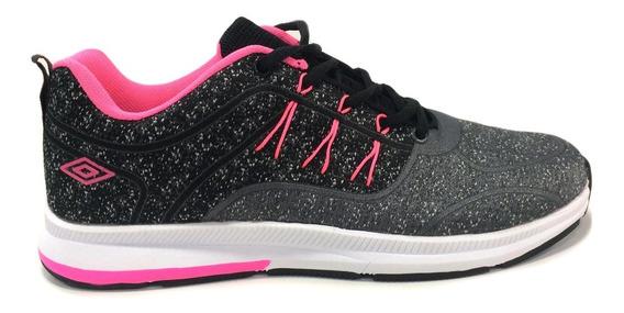 Zapatos Umbro Originales Para Damas - Um16782w - Blackfucsia