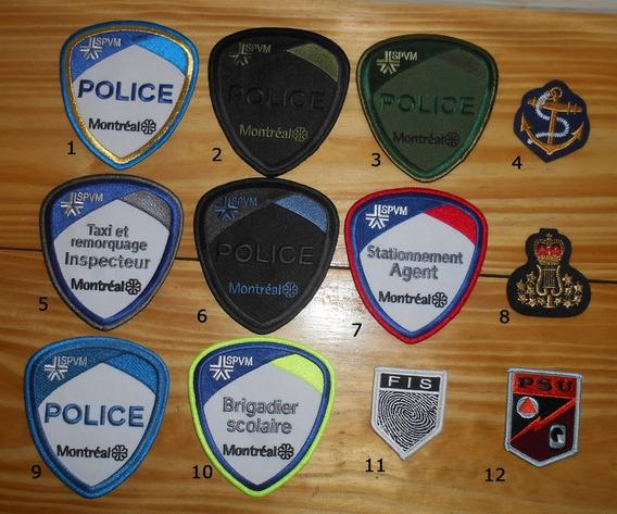 Parches Policias Del Mundo - Canada - Montreal