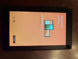 Tablet Amazon Fire 7 16gb En Buen Estado C/ Cable Usb