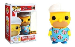 Funko Pop - The Simpsons: Homer Muumuu #502 Hot Topic Ex
