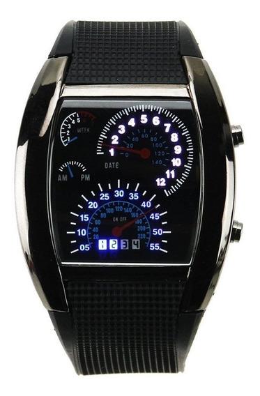 Mayoreo Lote 30 Reloj Led Aviation Tipo Velocímetro Novedoso