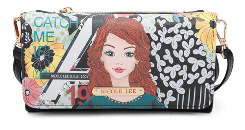 Cartera Billetera Nicole Lee 2020 - Catch Me If You -prt6906