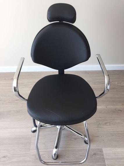 Cadeira Para Salão De Beleza Hidráulica Reclinável Kixiki