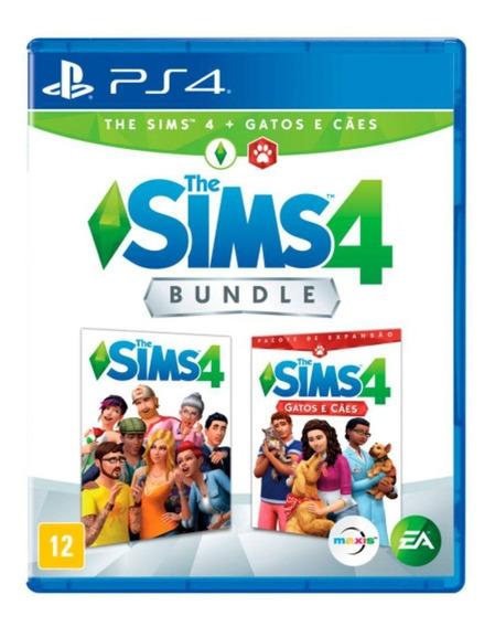 Jogo The Sims 4 Cães E Gatos Ps4 Disco Fisico Cd Original Novo Português