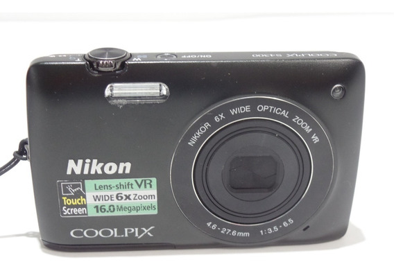 Camera Fotográfica Nikon Coolpix S4300 16mp Barata +brindes