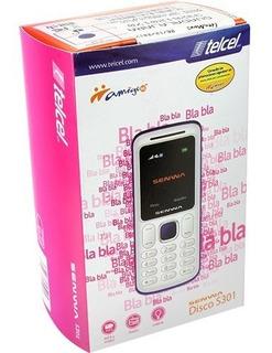 Telefono Celular Senwa S301 Pantalla Color Teclado Fisico