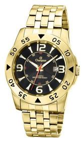 Relógio Masculino Champion Dourado Ca30230u