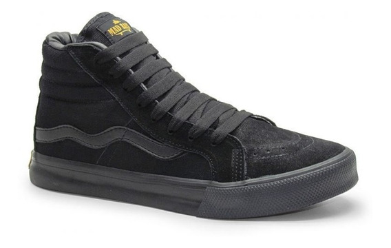 Tenis Madrats Hi Top Black