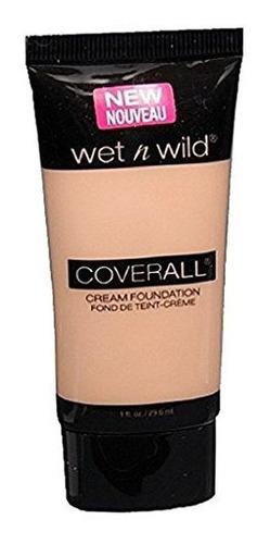 Wet N Wild Coverall Cream Foundation C817 Luz