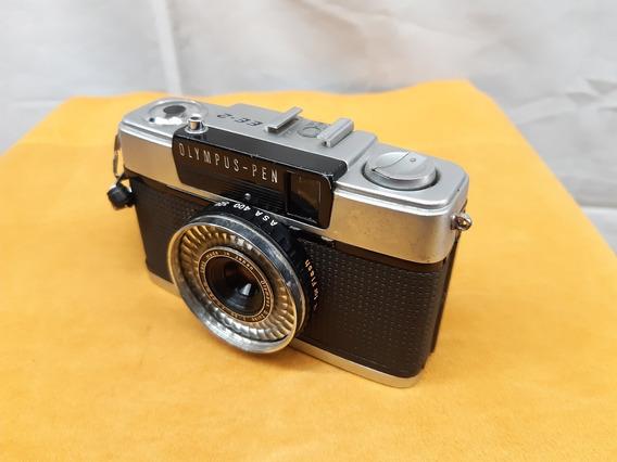 Maquina Fotográfica Olympus-pem Ee-2 - Made In Japan