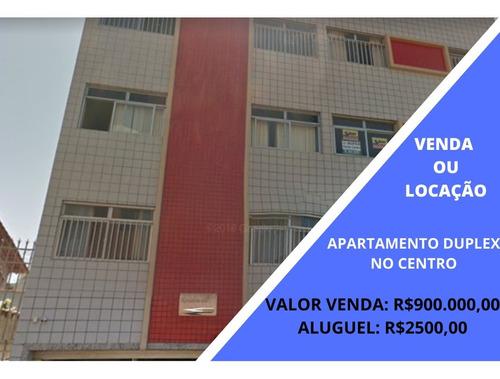 Apartamento Duplex Com 5 Quartos Para Alugar No Centro Em Lavras/mg - Mhc123
