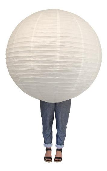 Lampara China Pantalla Papel Gigante 90cm Diametro