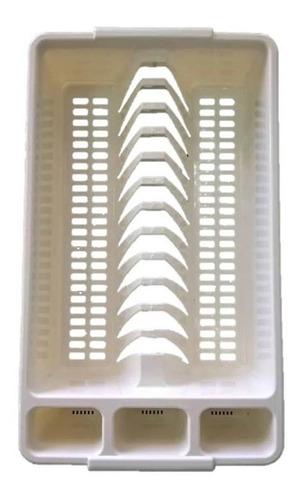 Imagen 1 de 2 de Platera Escurridora Plastica Marca Avila