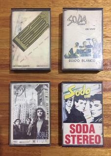 Soda Stereo Cassettes