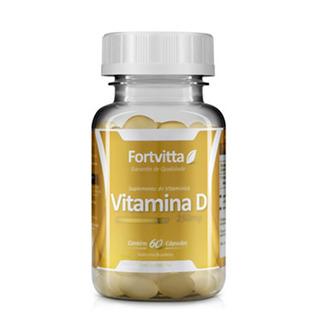 Vitamina D 250mg - 60 Cápsulas - Fortvitta